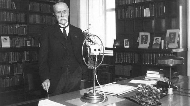 Český rozhlas odvysílal řadu projevů T. G. Masaryka, foto: APF ČRo