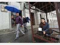 OBRAZ protest in front of the Agriculture Ministry, photo: CTK