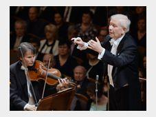 Czech Philharmonic with Jiří Bělohlávek, photo: CTK
