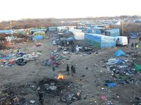 'Jungle de Calais', photo: malachybrowne, CC 2.0