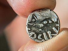 Keltská mince z Českolipska, foto: ČTK