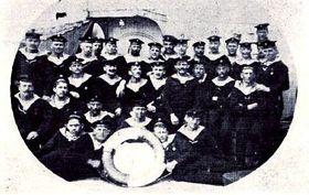 Чешские моряки на борту «Санкт-Георга», фото: открытый источник