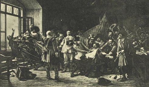 Пражская дефенестрация в 1618 г.