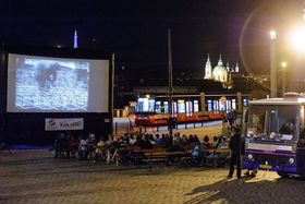 Kinobus, foto: Petr Hejna, archivo de  DPP