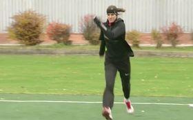 Zuzana Hejnová beim Training (Foto: Tschechisches Fernsehen)