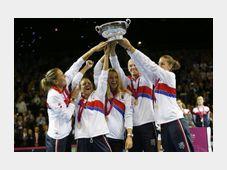 L'équipe de République tchèque de tennis féminin a remporté sa troisième Fed Cup consécutive, la cinquième en six ans, photo: ČTK
