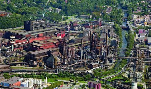 Třinecké Železárny, photo: archive of Třinecké Železárny