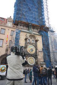 Astronomische Uhr am Altstädter Rathaus in Prag (Foto: Eva Turečková)