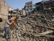 Bhaktapur, Nepal, May 14, 2015, photo: CTK