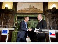 Donald Tusk et Bohuslav Sobotka, photo: ČTK