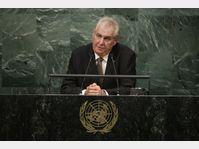 Miloš Zeman devant l'Assemblée générale de l'ONU, photo: ČTK
