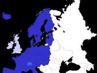 L'espace Schengen en 2008