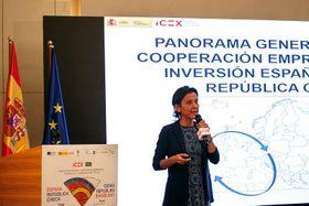 Ana Lucía Vich, Consejera Jefe de la Oficina Económica y Comercial de España en la RCh, foto: Embajada de España en la RCh