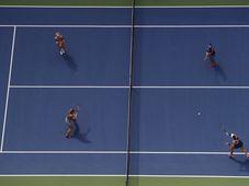 La final del dobles femenino, foto: ČTK