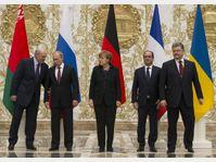 Alexander Lukashenko, Vladimir Poutin, Angela Merkel, Francois Hollande, Petro Poroshenko, photo: ČTK