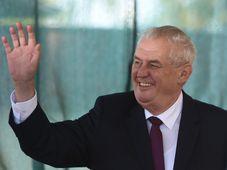 Miloš Zeman na výstavě Země živitelka, foto: ČTK
