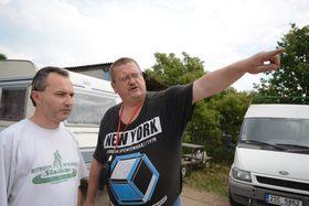 Ладислав Гомолка (справа), Фото: Эва Туречкова, Чешское радио - Радио Прага