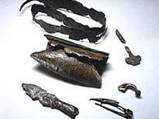 Waffengrabfunde der vorrömischen Eisenzeit von Groitzsch (Foto: www.archaeologie.sachsen.de)