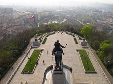 Вид на Прагу с Виткова, Фото: Кристина Макова, Чешское радио - Радио Прага
