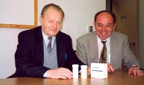 Antonín Holý, Erik De Clercq, photo: archive of Erik De Clercq