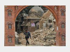 Bhaktapur, Nepal, April 26, 2015, photo: CTK