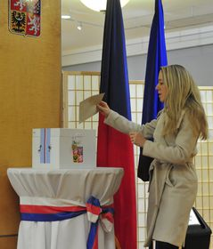 Czech presidential election in USA, photo: CTK