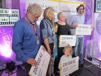 Radek Bajgar, Lucia Klein Svoboda, Lucie Konečná a Petr Žváček (Foto: Markéta Kachlíková, Archiv des Tschechischen Rundfunks)