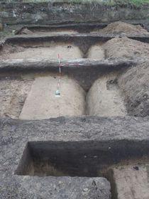 Los restos de un campamento romano en Brno, foto: Archaia Brno o.p.s.