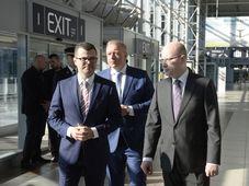 Václav Řehoř, Milan Chovanec, Bohuslav Sobotka, photo: ČTK