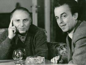 Ján Kadár and Elmar Klos, photo: Film Servis Festival Karlovy Vary