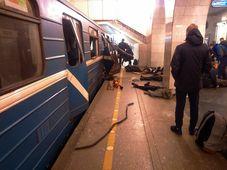 Взрыв в петербургском метро, Фото: ЧТК
