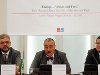 La conférence « Une Europe unie et libre ? », photo: CTK