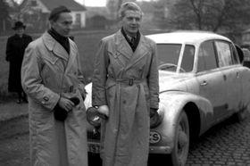 Jiří Hanzelka y Miroslav Zikmund (a la izquierda), foto: ČT24