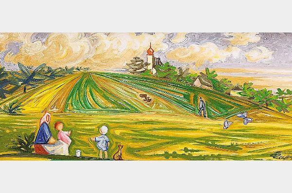 Pintura 'Junio de 1938' de Josef Čapek, fuente: Archiv European Arts