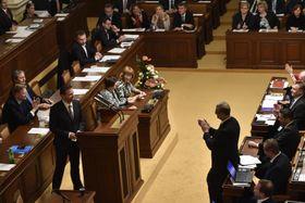 La Chambre des députés nouvellement constituée, photo: ČTK