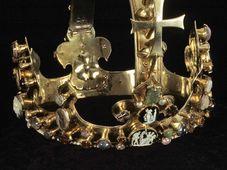 Koruna Karla IV., kterou byl korunován římským králem, foto: Dómské muzeum Cáchy / Národní galerie