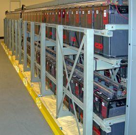 Batterien in einem Speicherkraftwerk (Illustrationsfoto: Jelson25, CC BY 3.0)