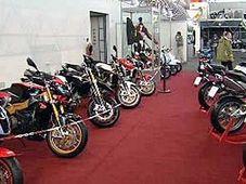 Výstava Motocykl 2009 (Foto: ČT24)