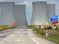 Atomkraftwerk Temelín (Foto: Filip Jandourek, Archiv des Tschechischen Rundfunks)
