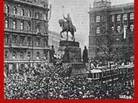 28. Oktober 1918 in Prag
