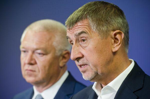 Jaroslav Faltýnek und Andrej Babiš (Foto: ČTK)
