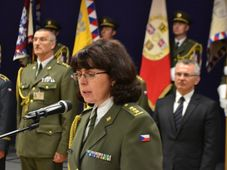 Lenka Šmerdová, photo: Jana Deckerová / Czech Army