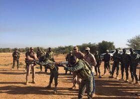 Les soldats tchèques au Mali, photo: AČR / Mali-EUTM / Site officiel de l'Armée tchèque