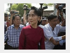 Aung San Suu Kyi, photo: ČTK