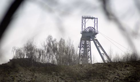 Uranium mine, photo: Daniel Burda