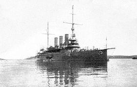 Le croiseur Sankt Georg, photo: public domain
