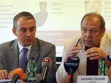 Йозеф Стршедула и Ярослав Завадил (Фото: ЧТК)