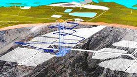 Entwurf des Endlagers für Atommüll (Foto: ČT24)