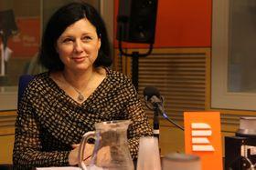 Věra Jourová (Foto: Jana Trpišovská, ČRo)