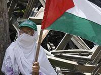 Une partisane du Hamas à Gaza, photo: CTK